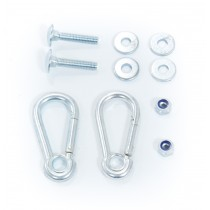 Dog pull rope fasteners