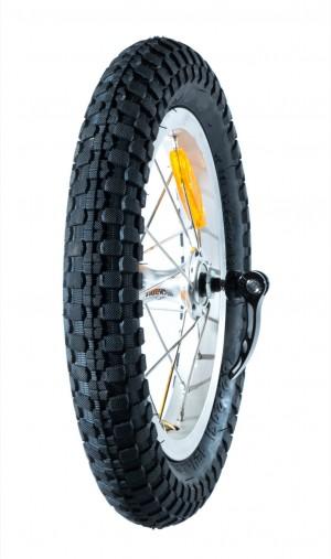 """Rear wheel 12.5"""" complete (Freeride)"""