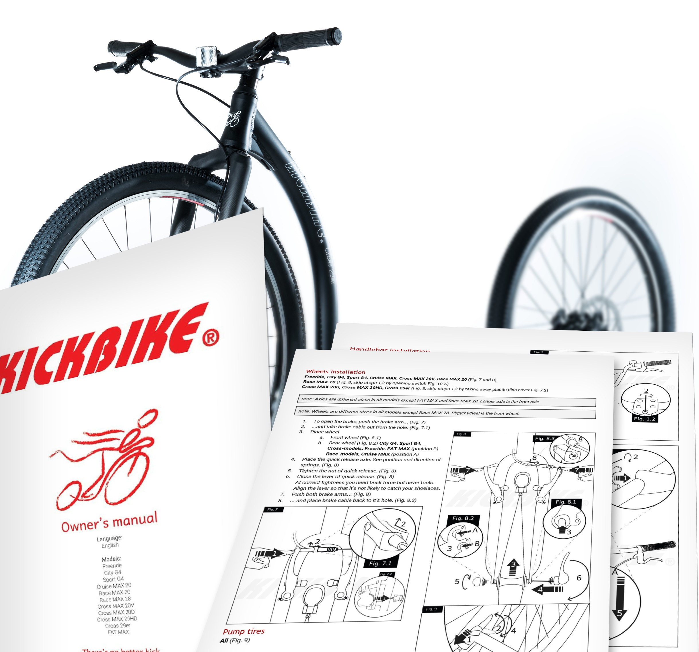 kickbike worldwide owner s manuals info downloads rh kickbike com the complete bike owner's manual exercise bike owner's manuals